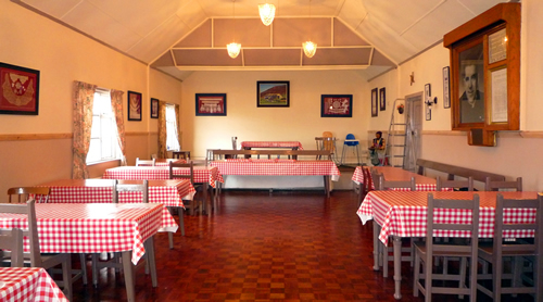 Tearoom, Folk Village, Glencolmcille, Donegal. Home baked goods, soups and sandwiches.