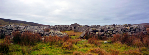 Archeology remains, Glencolmcille, Donegal