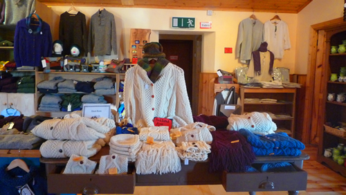 Interior of Craft Shop, Glencolmcille Folk Village